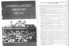 Liverpool & District Cricketers 1882-1947