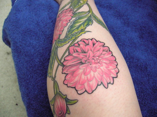 My Dahlia Tattoo