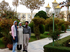 Hello from Isfahan (Hamed Saber) Tags: friends garden geotagged persian flickr meetup iran persia saber gathering iranian  groupshot hamed isfahan flickrmeetup farsi   flickrites  abbasi flickies     alieh somayeh      flickr:user=hamedsaber flickr:user=somayeht