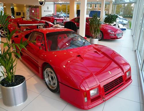 288 Gto Evoluzione. Ferrari 288 GTO Evoluzione by