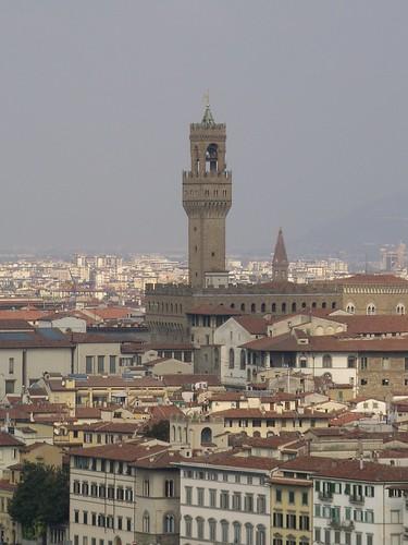 The Campanile, Palazzo Vecchio
