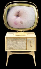 Nothing on TV (Mike_fj40) Tags: tv belly repair blowout bellybutton scar hernia umbilical umbilicus predicta tharsheblows ubilicalhernia omthalokepsis entrancewound