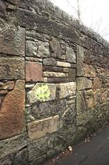 Bricked up doorway, Lovers Loan (lardus) Tags: door brick edinburgh doorway bricked brickedupdoorway brickedupdoorways