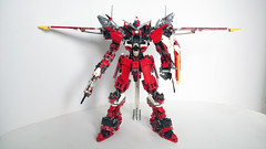 LEGO Justice Gundam ZGMF-X09A (demon14082001) Tags: lego gundam mobile suit seed moc creation perfect grade robot mecha destiny nền trắng justice x09a x10a zgmf
