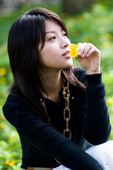 Daphny (swanky) Tags: portrait people woman cute girl beautiful beauty face photoshop canon asian eos md model women asia pretty sweet femme taiwan 85mm 2006 babe belle ntu  taiwanese lightroom  30d    dcview   daphny  canonef85mmf18usm
