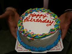 My ice cream birthday cake