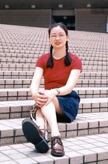 Celia 2 (aloyharg) Tags: leg celia wong crutches brace paralysis polio kafo caliper infantile calliper poliomyelitis builtupshoe