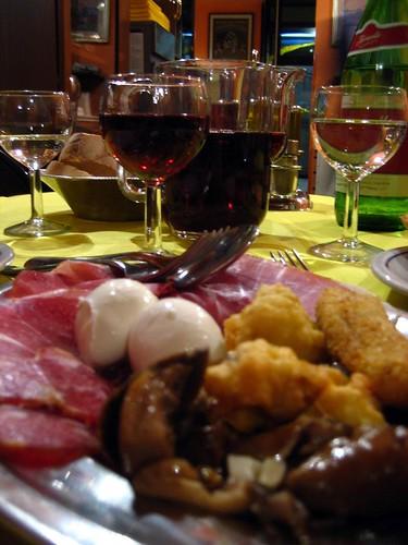 Da Giocondo's Antipasti Calabresi.