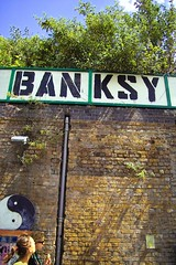 Banksy - Banksy Big (HowAboutNo!) Tags: art graffiti paint banksy illegal genius legend subversive daubing howaboutno