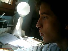 Profile - Profilo (LtlOry) Tags: light boy portrait italy luz dark italia lumire profile chico luce italie garon buio ragazzo monza profilo