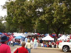 The Grove, Ole Miss (Deep Fried Kudzu) Tags: college mississippi georgia football university grove ole oxford sec miss olemiss hotty toddy espn2 areyouready hottytoddy