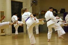 karate training (Genista) Tags: japanese uniform martialarts karate dojo abe fighting workout wado gi humans ucberkeley hearstgym karateclub