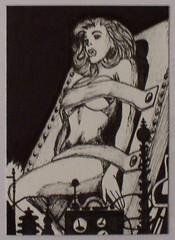 Bondage woman