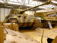 King Tiger and Tiger 1 (helmut the horrible) Tags: tank tiger tankmuseum kingtiger bovington tiger1 germantanks