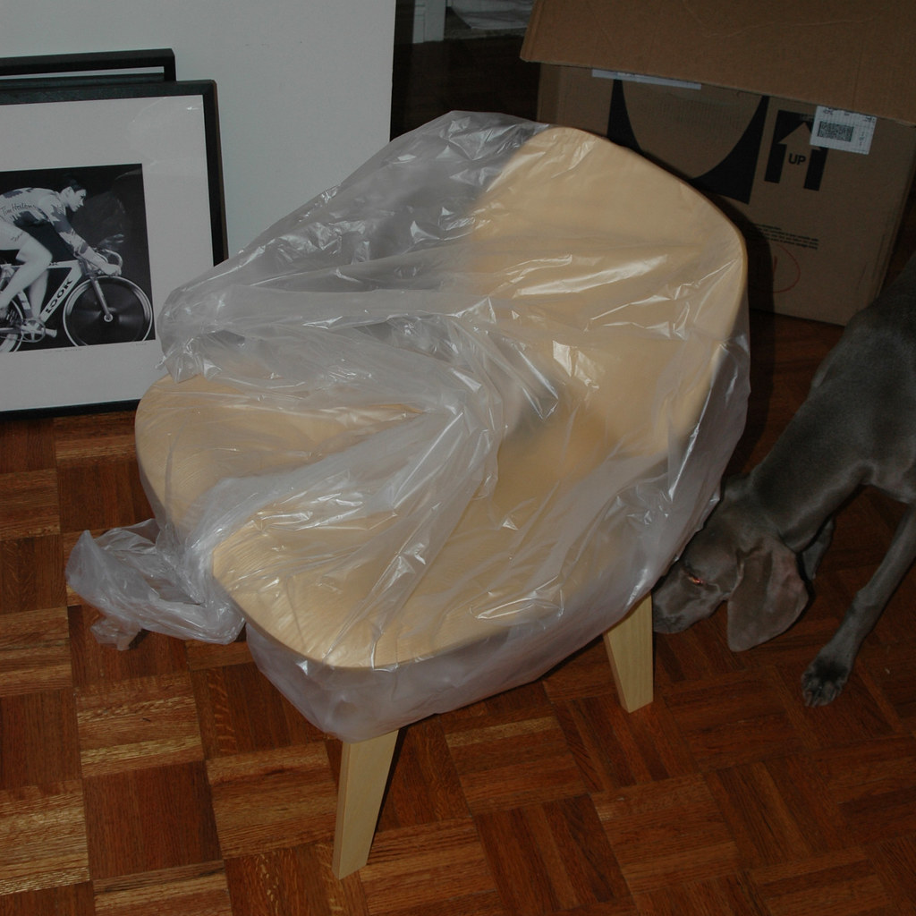 Unpacking the Eames Molded Plywood Chair
