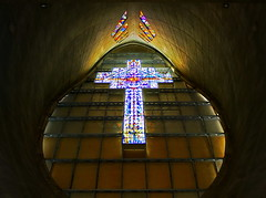 Cruz de Cristal / Crystal Cross (*atrium09) Tags: travel detalle church monument glass lines topv111 architecture arquitectura topv333 colours christ cross god crystal monumento basilica venezuela details iglesia olympus 100v10f colores cruz cristo virgen vidriera showwindow churche vidrio techo dios vitral lineas cristales coromoto e330 50v5f topvaa 25faves atrium09 challengeyouwinner guanare virgyn rubenseabra