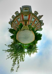 (Tone)map of the world (Man) Tags: famille wedding panorama castle gimp 360 explore handheld normandy hdr 360x180 planetoid hugin enblend photomatix i500 1xp littleplanet manuperez planetoids
