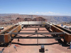 grand canyon bridge construction