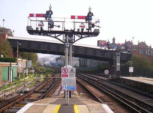 Hastings Semaphore Signals. 2006