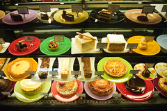pistachio - full counter of desserts (Doctor Casino) Tags: cake cookie delicious bakery tart