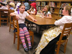 Junie B. Jones (Old Shoe Woman) Tags: school costumes students reading books bookcharacters redribbonweek readathon yearbook2006 drugawareness