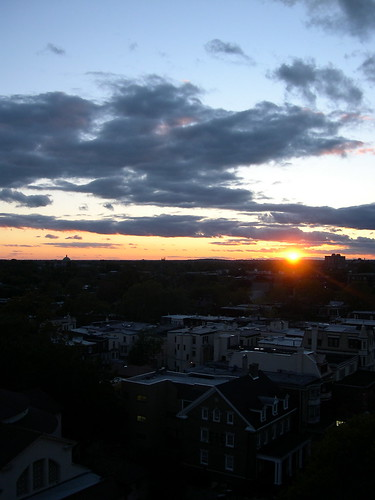 Sunset from A Rooftop