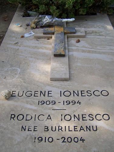 Eugene Ionesco's Grave in Cimetière du Montparnasse