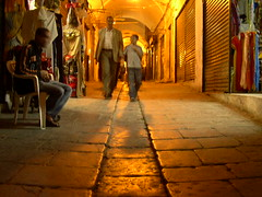 stone-paved alley in the tunis medina (elmina) Tags: night tunisia tunis medina ramadan