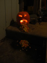 Janet's puking pumpkin
