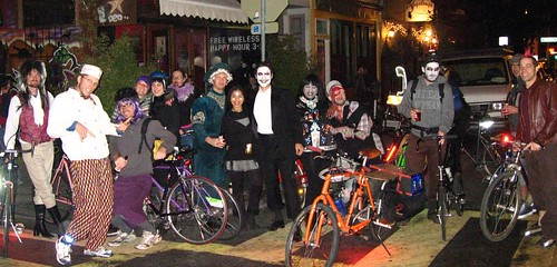 Halloween ride with the SF Cruisers