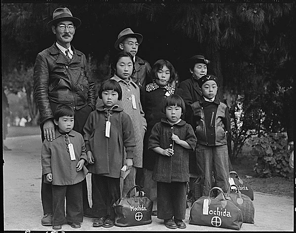 Public Domain: WWII: Japanese-American Internment by Dorothea Lange (NARA)