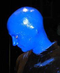 Portrait of a Blue Man