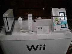 Nintendo Wii will be sold in early December (digitalbear) Tags: cameraphone japan moblog tokyo nintendo wii