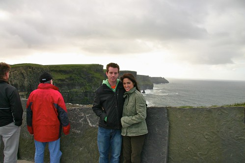 Jess & I at Cliffs of Moher