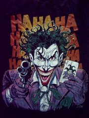ha! (Divine Harvester) Tags: shirt clown tshirt batman joker hahaha