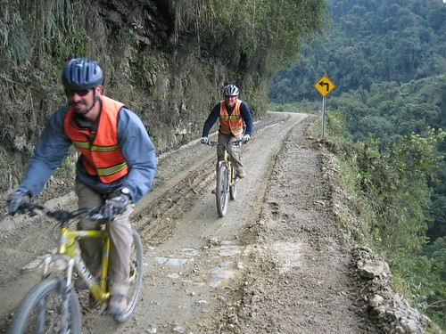 mountain bikes Death Road Bolivia