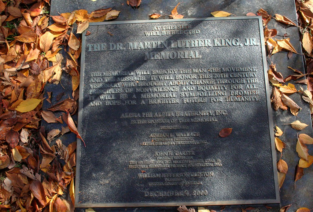 Future site of Dr. Martin Luther King Memorial Jr.