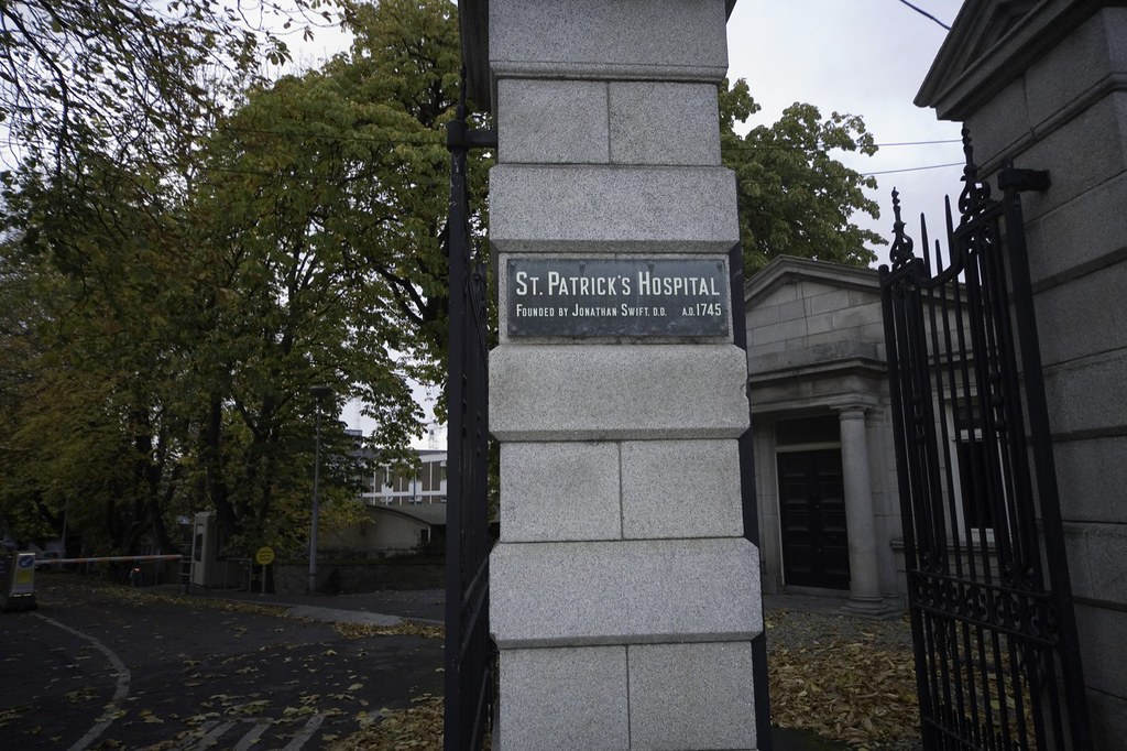 ST. PATRICK'S HOSPITAL - FOUNDED BY DEAN SWIFT