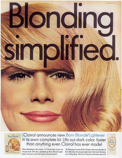 Clairol ad, 1969