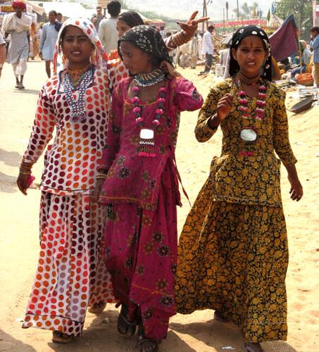 gypsy girls PUSHKAR