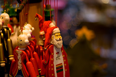 Father Christmas (Aidy Spender) Tags: christmas xmas salzburg toy austria dof bokeh decoration ornament fatherchristmas mozart 400d eos400d canoneos400d