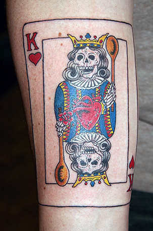 King of Hearts Tattoo; ← Oldest photo