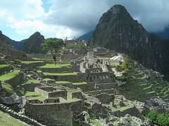 Machu Picchu in afternoon sun