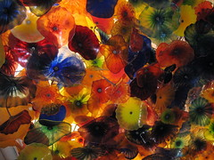 Chihuly at Bellagio (kimbar/very busy, in and out) Tags: chihuly art glass beautiful lights hotel colorful searchthebest lasvegas craft explore bellagio i245 p1f1