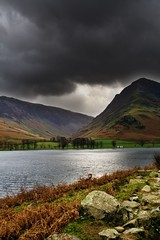 buttermere1 (jetj) Tags: autumn cloud mountain lake landscape outdoors lakes lakedistrict hills cumbria buttermere englishlakes northernengland