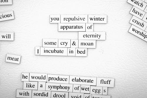 fridge...