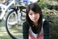 Daphny (swanky) Tags: portrait people woman cute girl beautiful beauty face canon asian eos md model women asia pretty sweet femme taiwan 85mm 2006 babe belle ntu  taiwanese  30d    dcview   daphny  canonef85mmf18usm