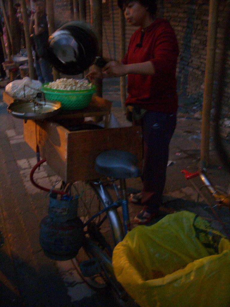 Popcorn Vendor on a Bike