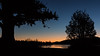 At the break of dawn (juggleben) Tags: dawn light sunrise colors lake reflection bigbear tree silhouette