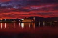 After_Sun (Rijeka u slikama) Tags: rijeka croatia port blue hour